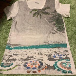 J Crew Thailand Destination Tee shirt - Small